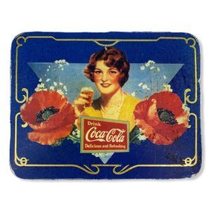 Vintage Coca Cola Reproduction Ad Tin Wall Hanging
